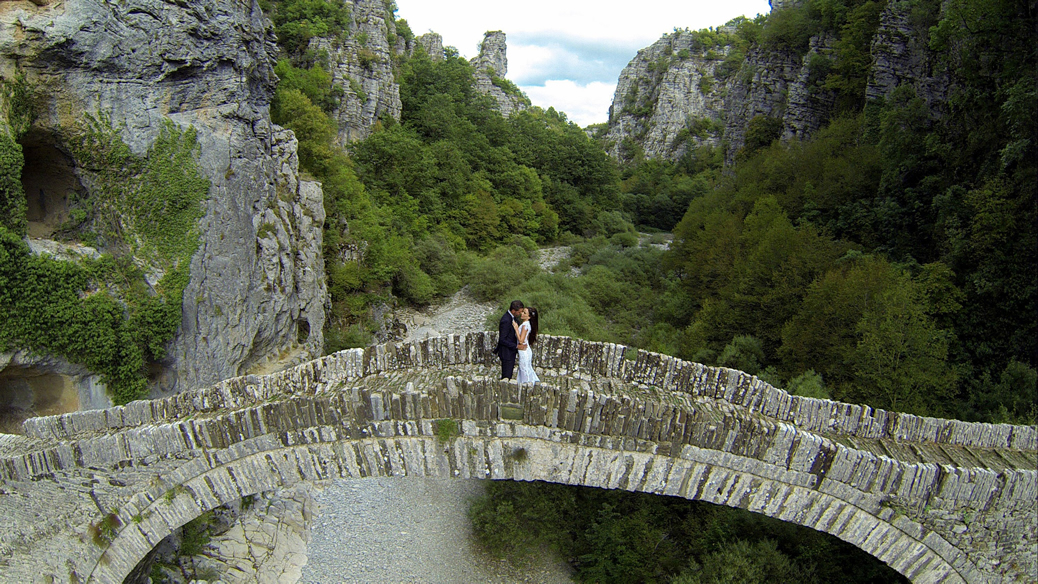 Aerial Wedding Photos