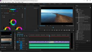 Adobe Premiere Video Editing