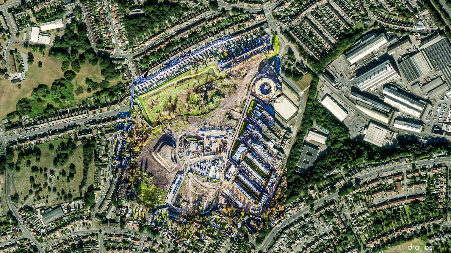 2D Drone Mapping For Construction
